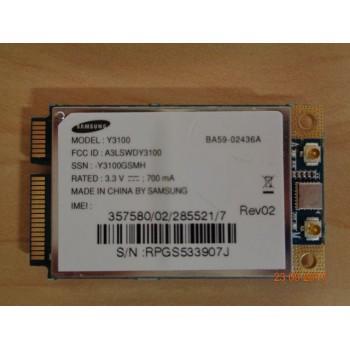 WWAN, 3G, modem Samsung Y3100